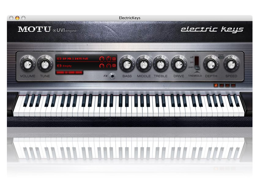NAMM 2008: 50 instruments in MOTU Electric Keys | MusicRadar