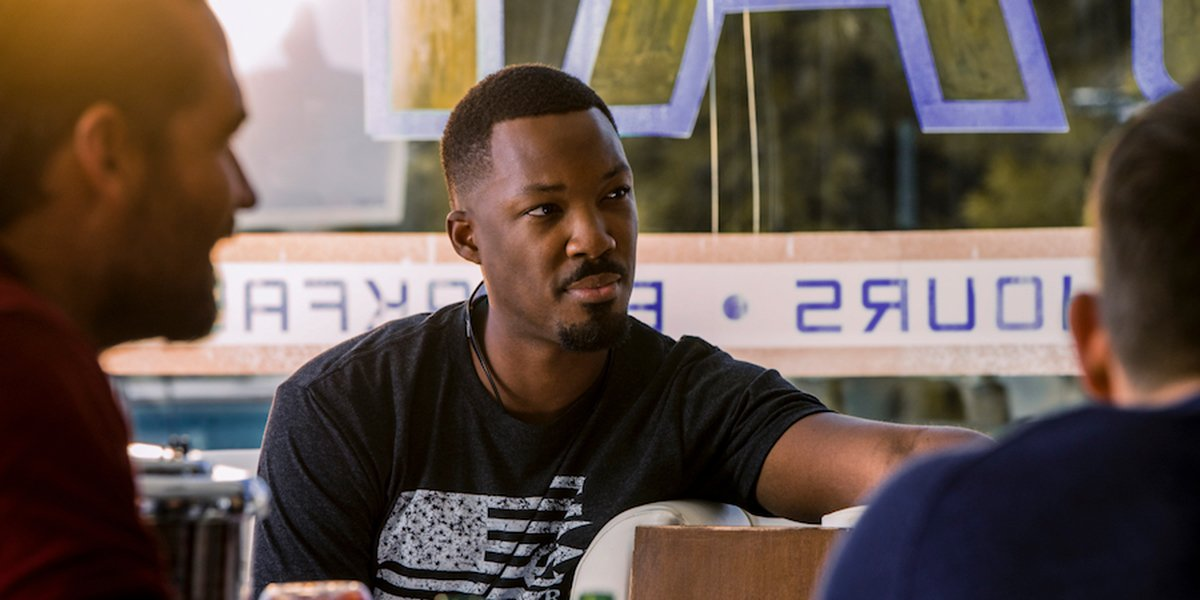 How Corey Hawkins Prepared To Be A Sniper In 6 Underground
