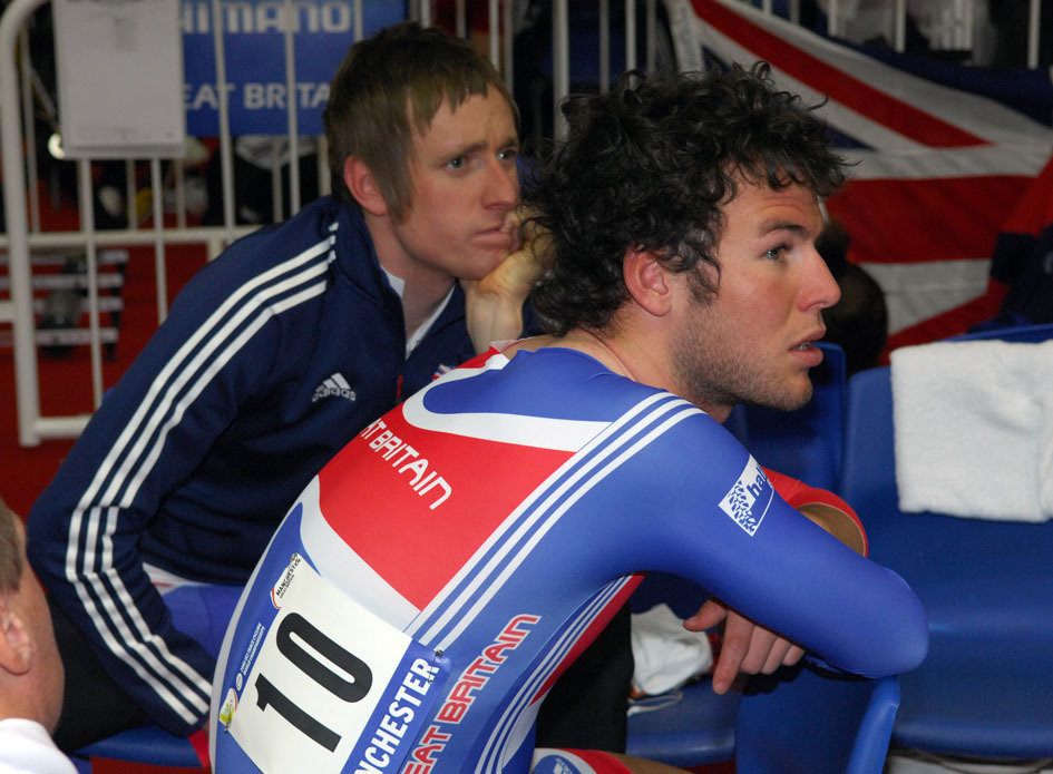 Bradley Wiggins Mark Cavendish Madison