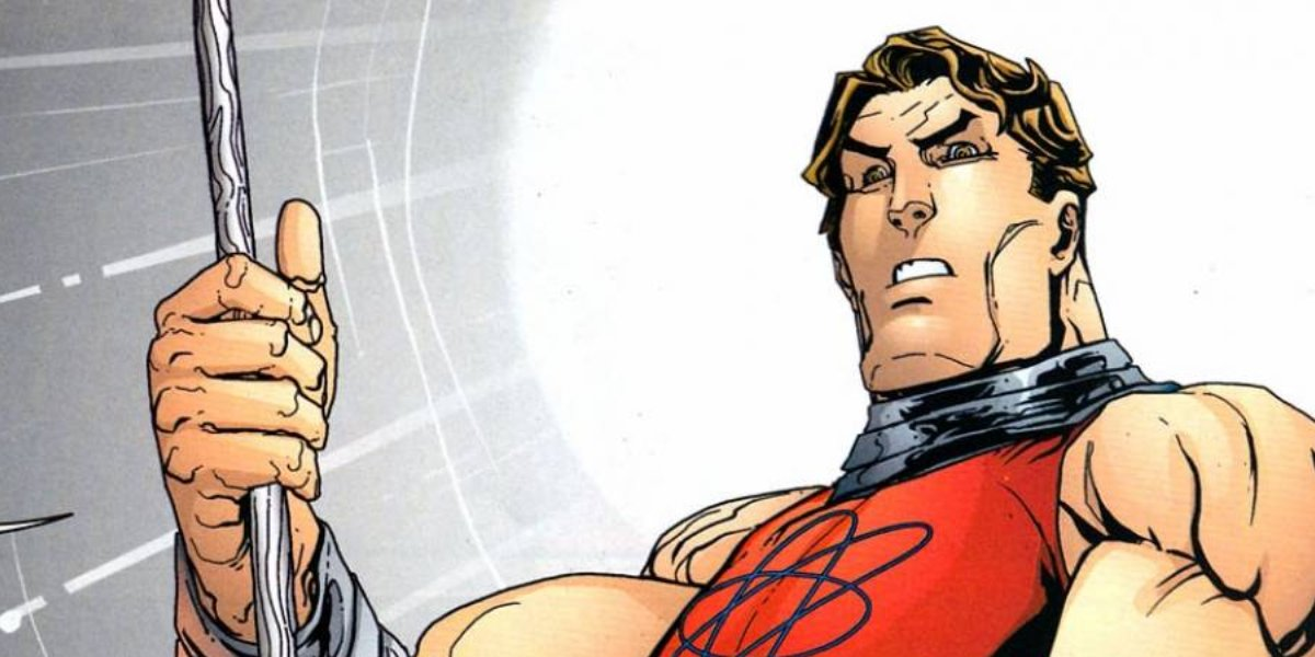 Jewish superhero Atom Smasher
