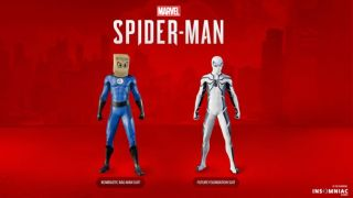 Spider-Man PS4 gets both of the Fantastic Four skins fans were