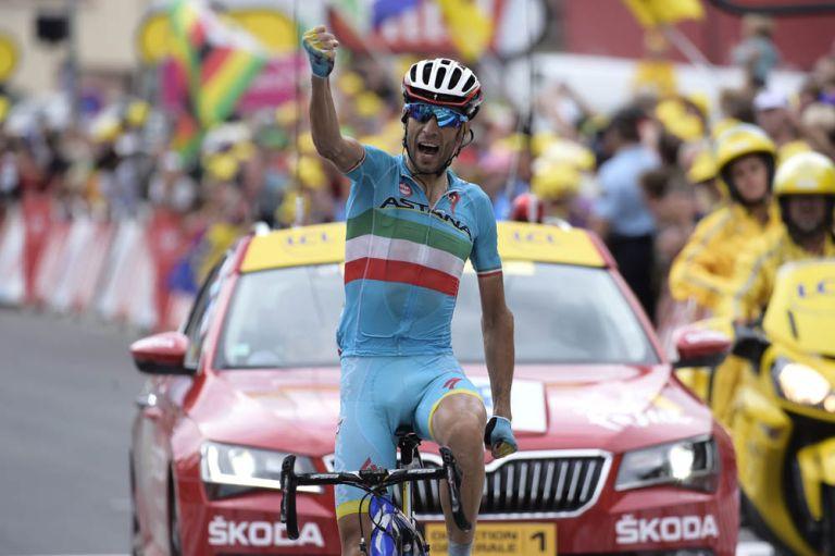 Vincenzo Nibali wins stage nineteen of the 2015 Tour de France (Watson)