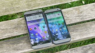 HTC One M8 vs HTC One Mini 2