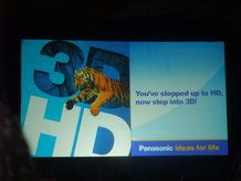 Panasonic is a major company behind creating a 3D Blu ray format