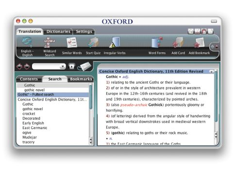 Paragon Talking Concise Oxford English Dictionary and Thesaurus