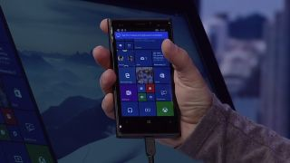 Continuum on Windows 10 for phones