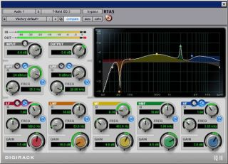Pro Tools plug-in EQIII is a good example of a parametric EQ