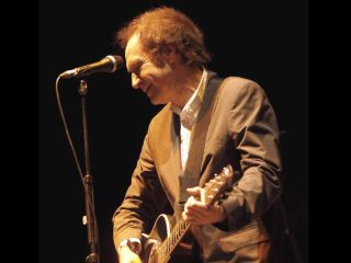 The former Kinks front man on stage earlier this year