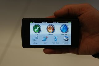 The Garmin Asus Nuviphone at MWC in February
