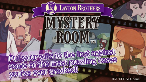 Layton Brothers Mystery Room Now Solving Cases on iOS #27538