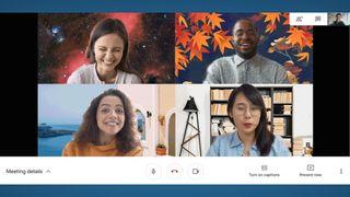 Google Meet backgrounds