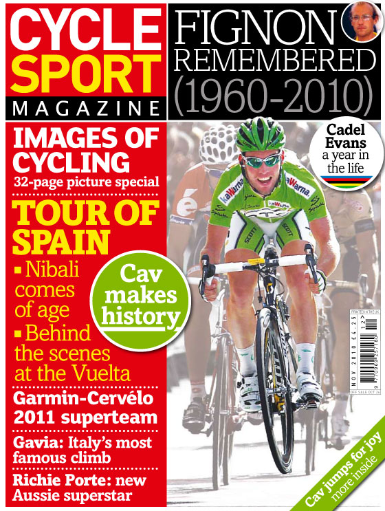 bc0048184 Cycle Sport November 2010 issue out now! - Cycling Weekly