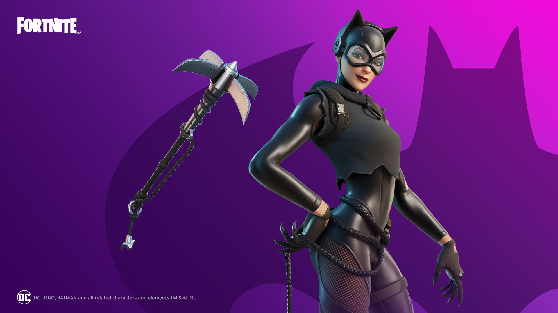 Catwoman Fortnite skin