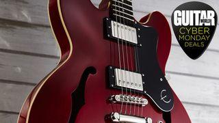 Cyber Monday guitar deal: Epiphone Dot