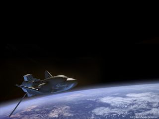 Dream Chaser in Orbit: Artist's Concept