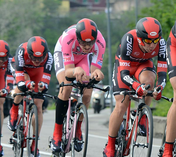 Taylor Phinney, Giro d'Italia 2012, stage 4 TTT