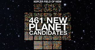 NASA's planet-hunting Kepler space observatory has discovered 461 new potential alien planets.