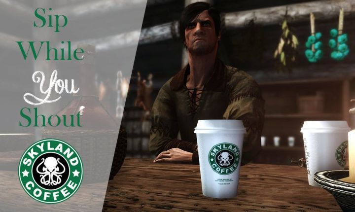 Modders have added a hot cup of Starbucks coffee to Skyrim following the Game of Thrones production goof