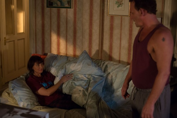 EastEnders' Billy and Honey Mitchell (Perry Fenwick and Emma Barton)