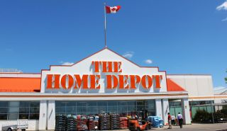 A Home Depot store in Etobicoke, Ontario, outside Toronto.