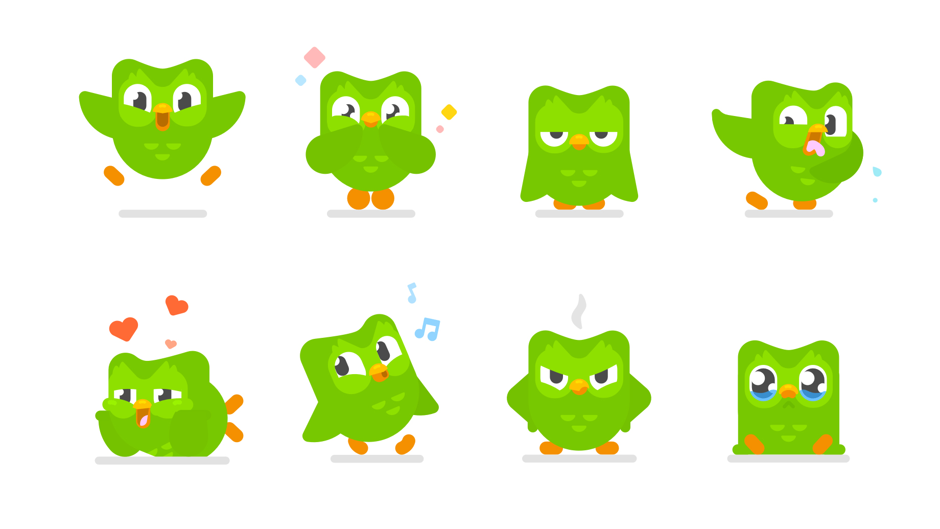 Duolingo's redesigned mascot is a hoot