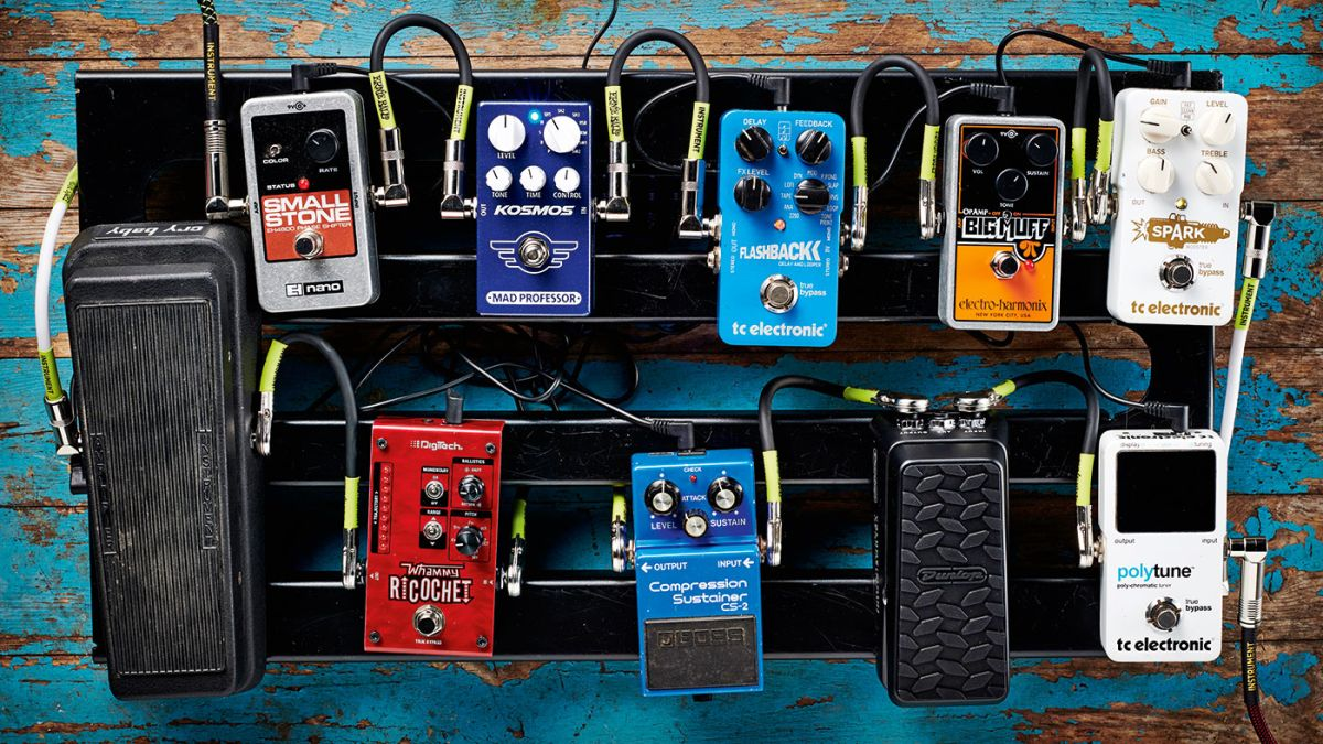 guitar pedal order how to organise your pedalboard musicradar. Black Bedroom Furniture Sets. Home Design Ideas