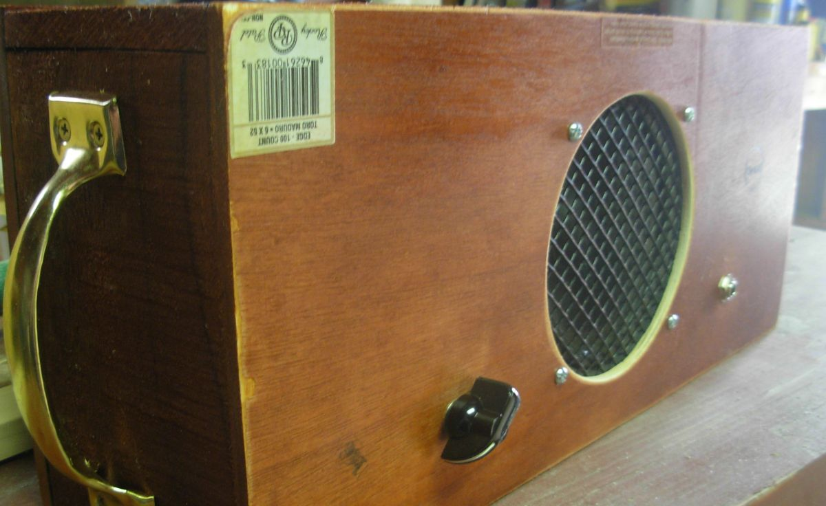 How To Build A Cigar Box Guitar Amp