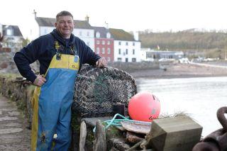 Lobster fisherman Mark Gainford.