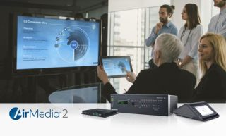 Crestron Shows New AirMedia Wireless Presentation Systems at InfoComm