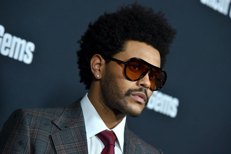 "The Weeknd attends the premiere of A24's ""Uncut Gems"" at The Dome at ArcLight Hollywood on December 11, 2019"