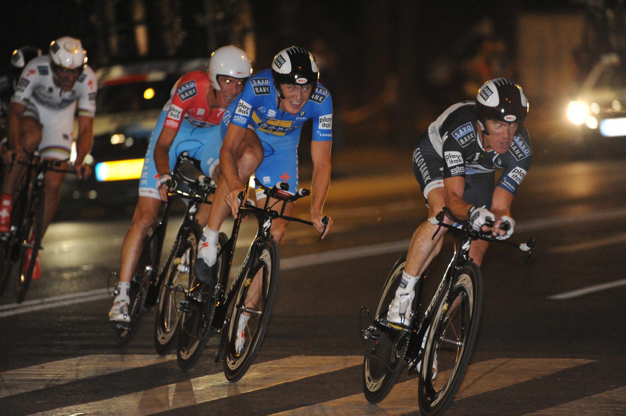 Saxo Bank, Vuelta a Espana 2010 stage 1 TTT
