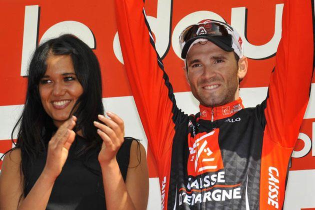 Alejandro Valverde takes race lead, stage three