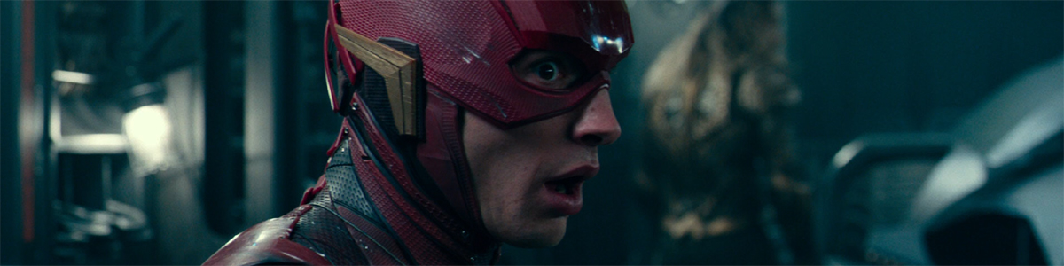 Ezra Miller as Barry Allen The Flash