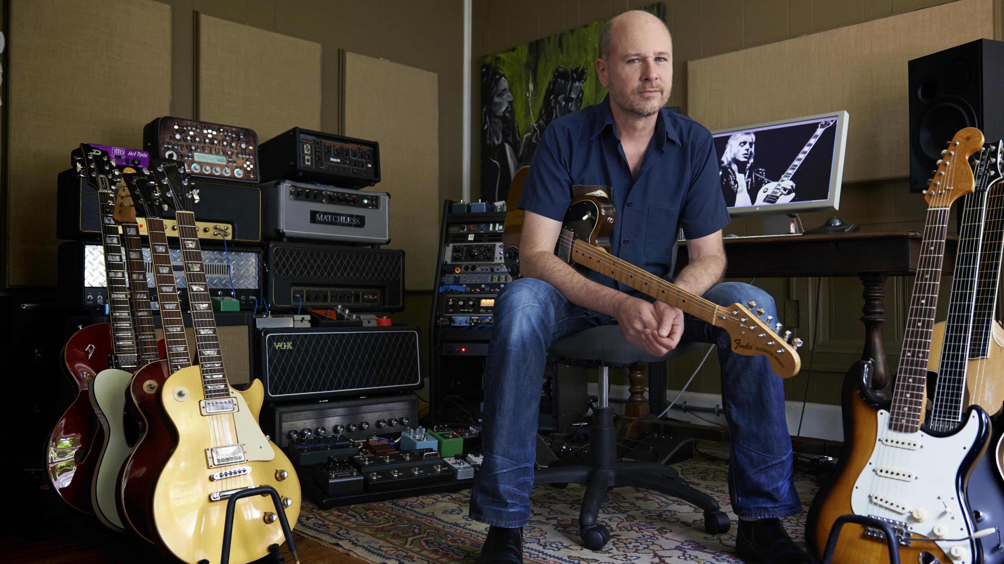 """Nashville session guitar king Jerry McPherson: """"Instead of"""