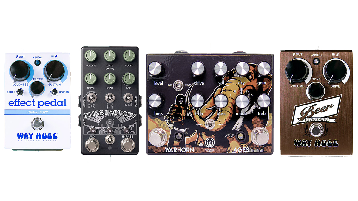 Way Huge, Walrus Audio, Z.Vex and Chase Bliss Audio introduce exclusive new pedals for Reverb's The Pedal Movie