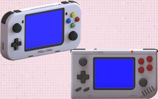 Renders of the new Experimental Pi handheld consoles
