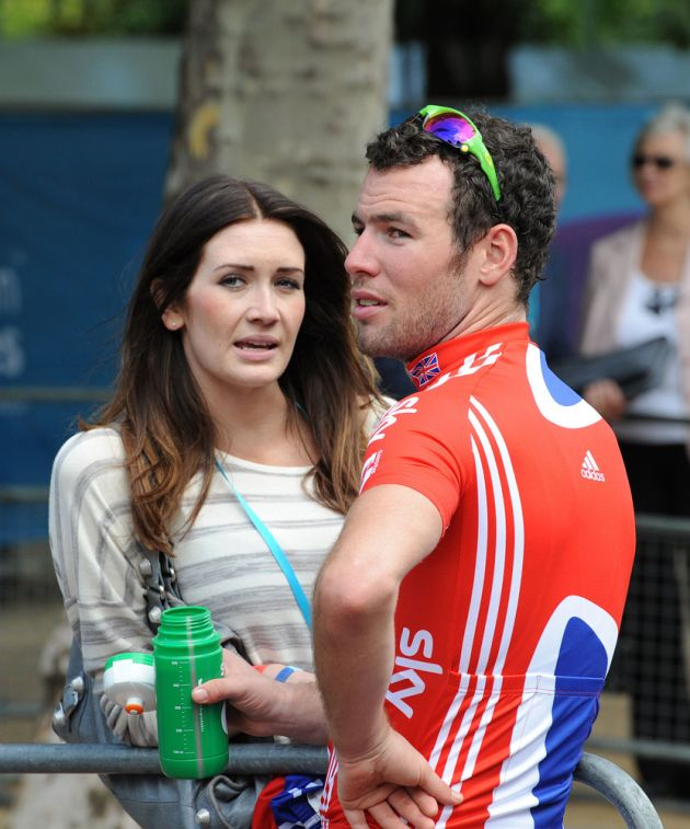 Mark Cavendish and Peta Todd, London-Surrey Cycle Classic 2011