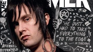 The Rev Metal Hammer cover