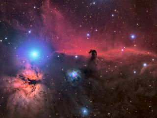 The Horsehead and Flame Nebula © Connor Matherne