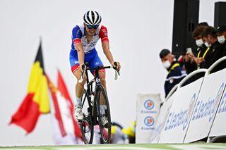 Tour de France 2021 108th Edition 17th stage Muret Col du Portet 1784 km 14072021 David Gaudu FRA Groupama FDJ photo GVGPNBettiniPhoto2021