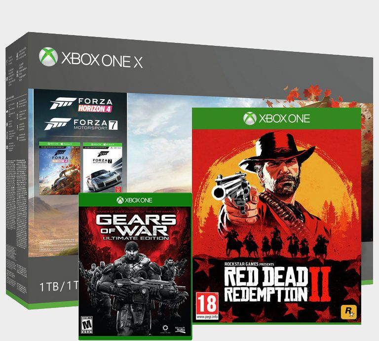 Snap up an Xbox One X with four games - including Red Dead Redemption 2 - for just £389.99 at John Lewis right now