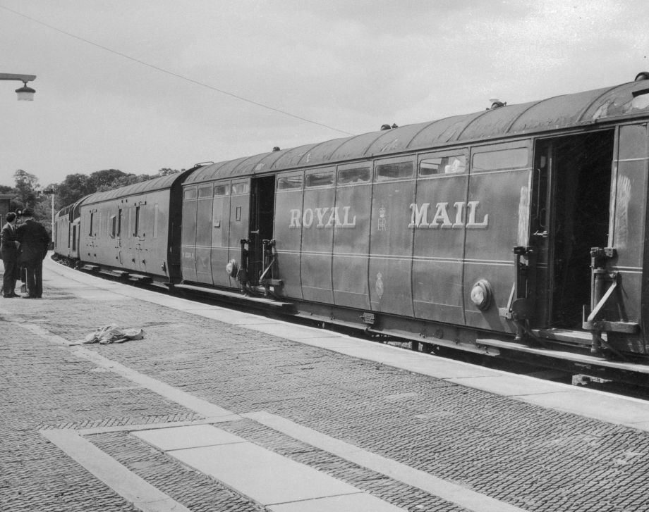 The Great Train Robbery: The robbed train in 1963