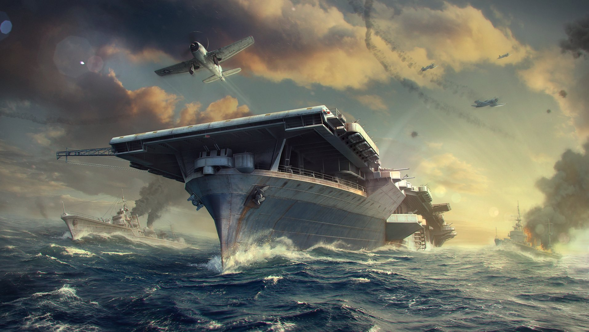 World of Warships aims high with new aircraft carrier update | PC Gamer