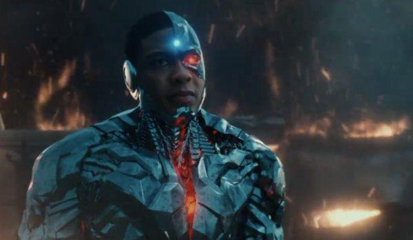 Cyborg Justice League CGI