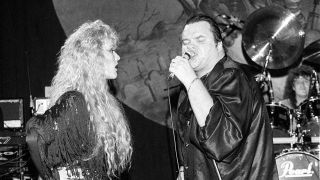 Meat Loaf onstage in 1989