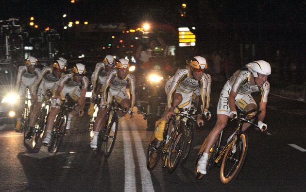 HTC-Columbia win Vuelta a Espana 2010 stage 1 TTT