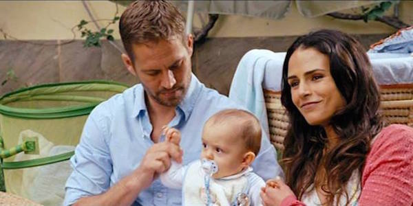 Fast and Furious Brian and Mia with their son