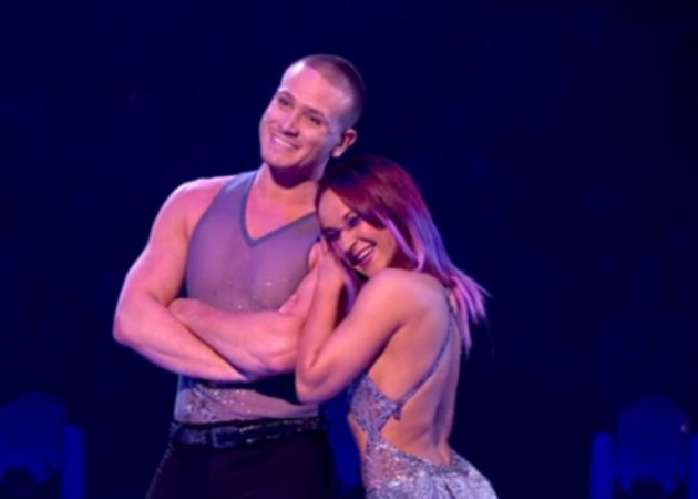 Matthew Wolfenden scores Dancing On Ice high
