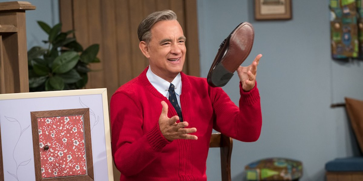 How Fred Rogers Widow Feels About Tom Hanks In A Beautiful Day In The Neighborhood Cinemablend
