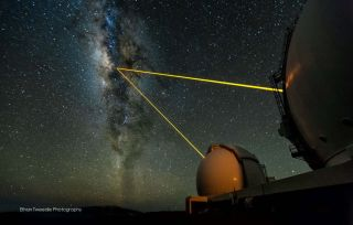 Keck 10-meter Telescopes on Mauna Kea